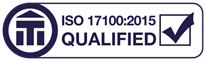ISO 17100 Qualified